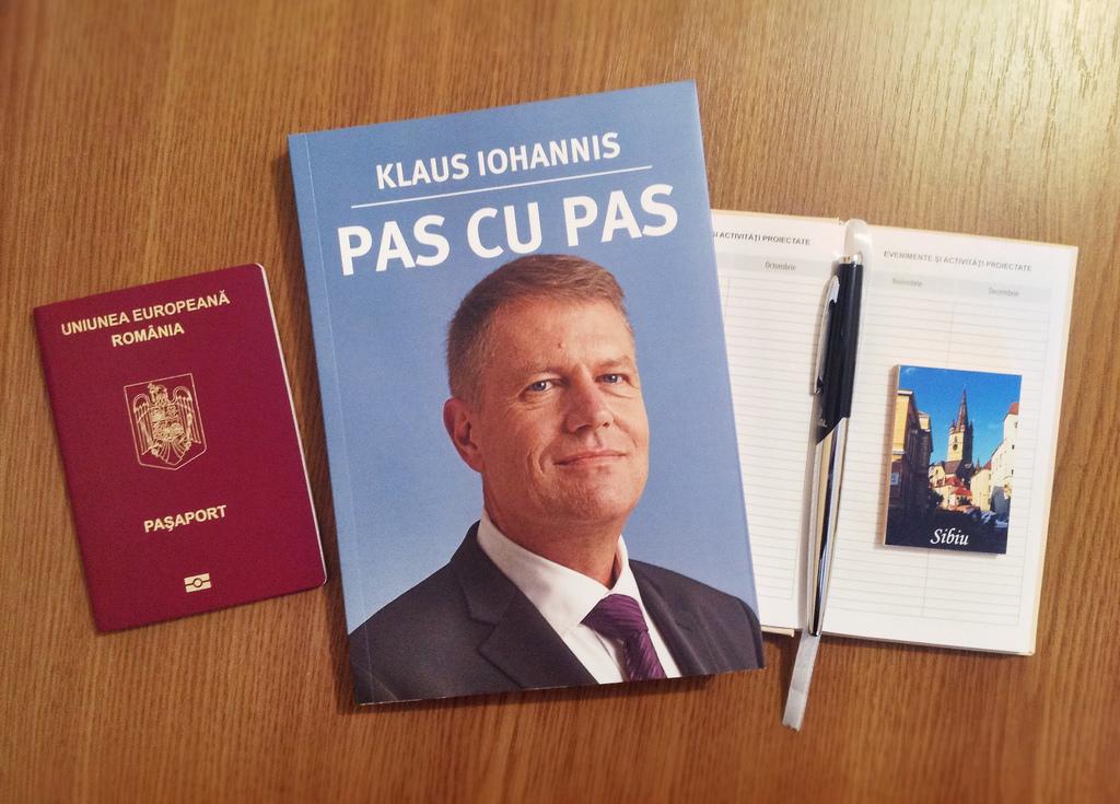 """""""Pas cu Pas"""" de Klaus Iohannis"""