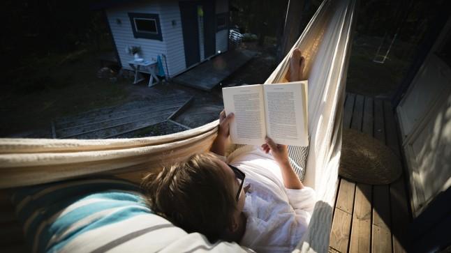 sleeping-reading